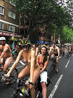 World naked bike ride 9