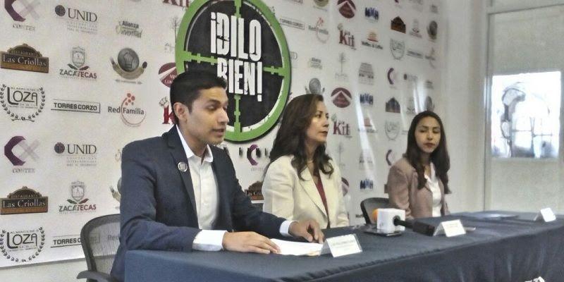 Miembros de la organización Dilo Bien Zacatecas