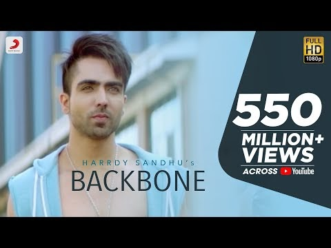 बैकबोन Backbone Lyrics in Hindi – Harrdy Sandhu