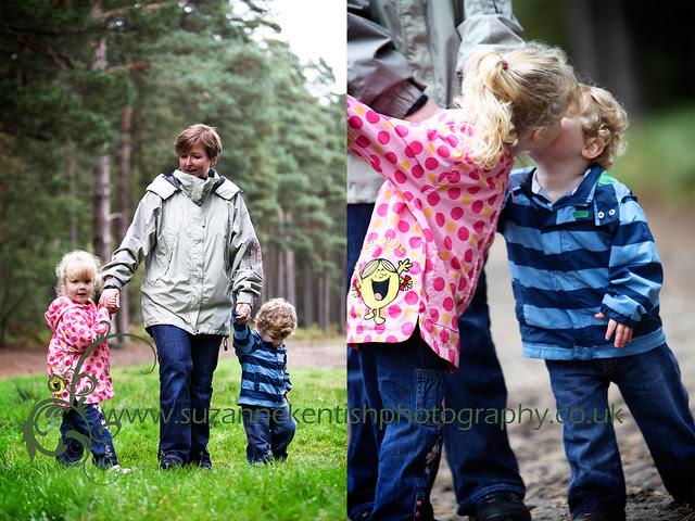 Family Portrait - Woburn woods