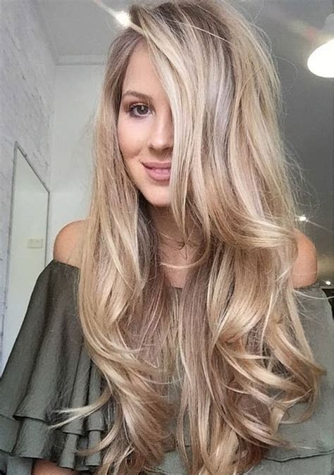 Classy Hairstyles for Long Blonde Hair 1   Top Ideas To