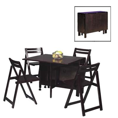 Dinette sets for small spaces superb japanese modern for Modern dining sets for small spaces