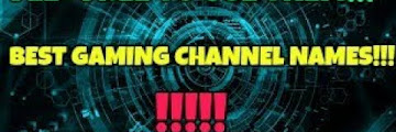 Name For Youtube Gaming Channel