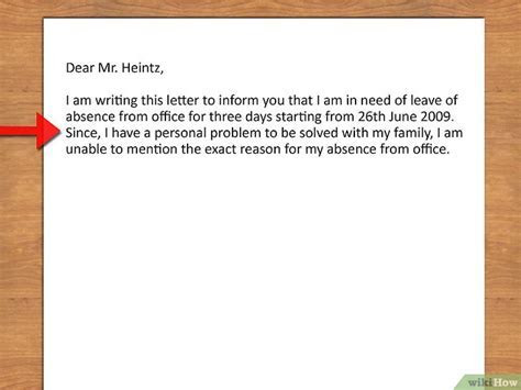 Cómo escribir una solicitud de permiso de ausencia