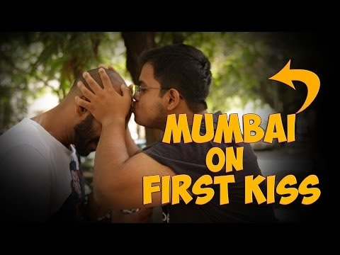 see first kiss reaction