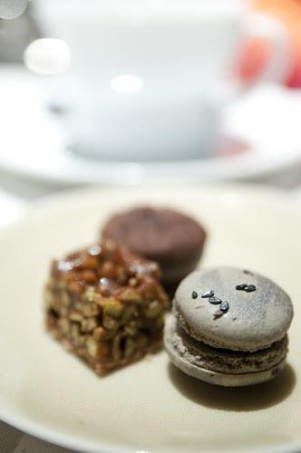 Sample Tasting Menu, Fifth Floor, Hotel Palomer