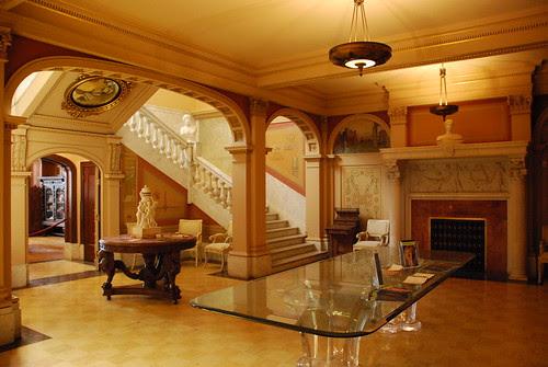 Hancock Memorial Museum, Reception Hall
