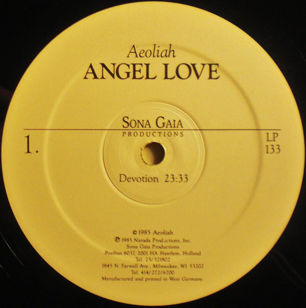 Angel Love label