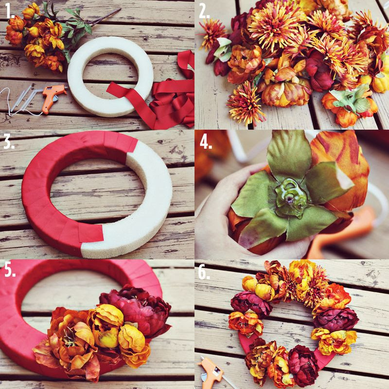 Autumn Amour 2013 ♥: Diy Autumn Wreath