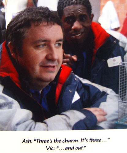 Mark Benton in Three and Out from Preview Press Pack
