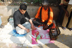 The Parrot Astrologer Reads Dr Abbas Ai Mirs Fate Dharmapuri by firoze shakir photographerno1