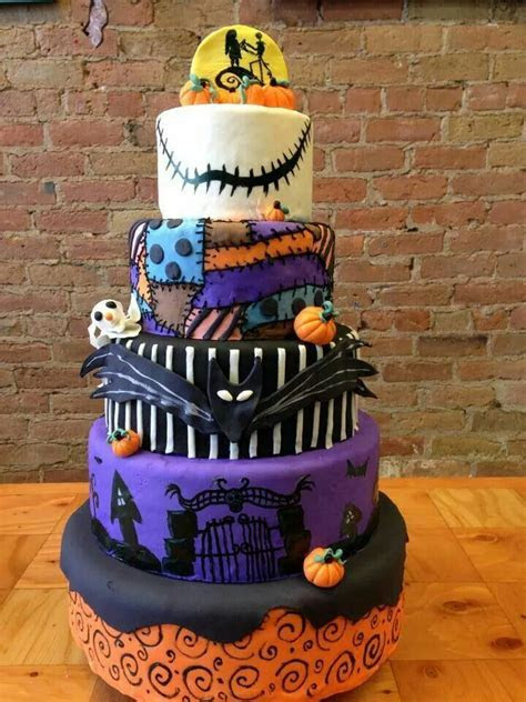 Nightmare Before Christmas Cake   All Hallows in 2019