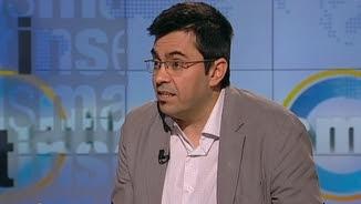 """Gerardo Pisarello, primer tinent d'alcalde de Barcelona, aquest divendres, a """"Els matins"""" de TV3"""