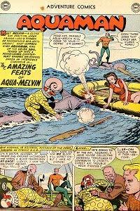 Adventure #242 Aquaman Splash Page