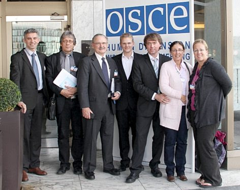 OSCE Warsaw 2012: The Team