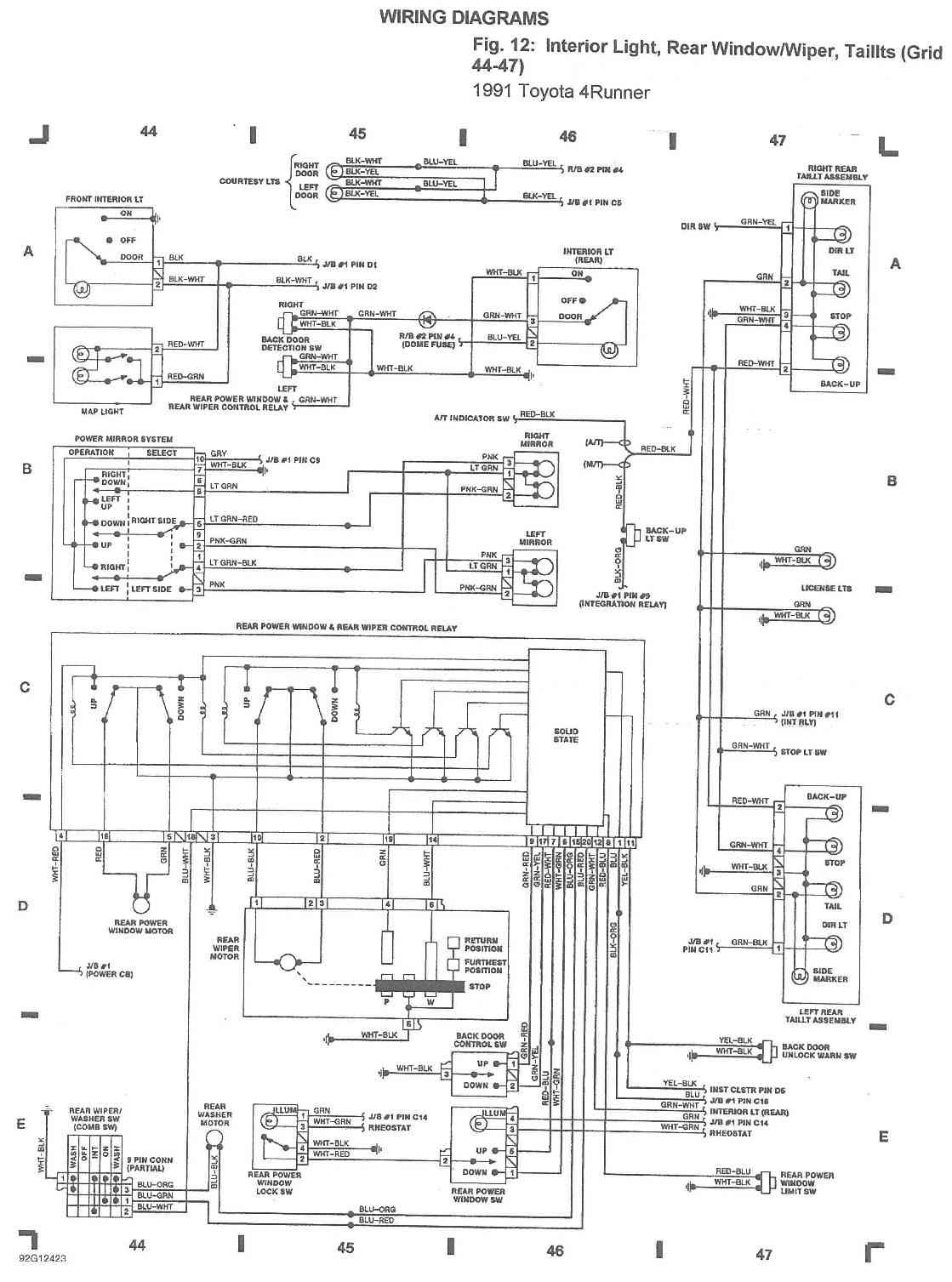 Diagram 1994 Toyota 4runner Wiring Diagram Full Version Hd Quality Wiring Diagram Diagramsrolph Radioueb It