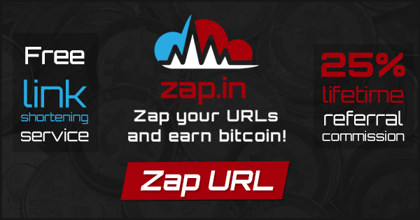 Zap In Zap Your Urls And Earn Bitcoin -