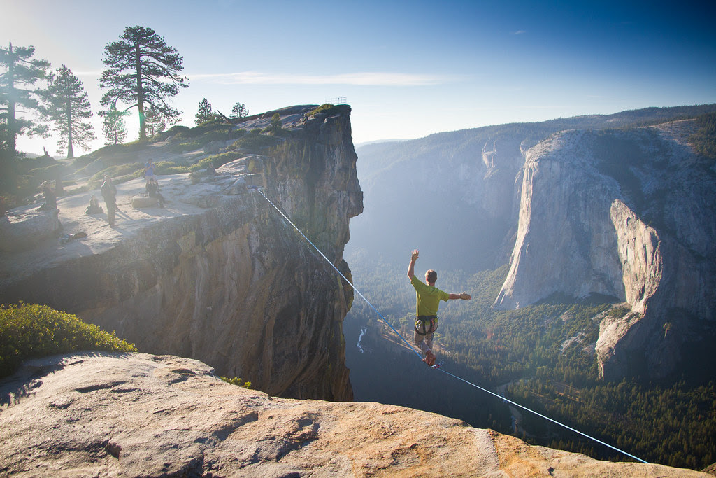 Yosemite Highlining