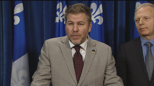 Pascal Bérubé, en conférence de presse