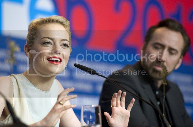The Croods photo: Nic and emma stone at the