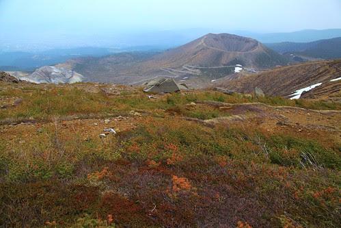 Mt. Azuma-Kofuji From Mt. Issaikyo by Parmanand Sharma