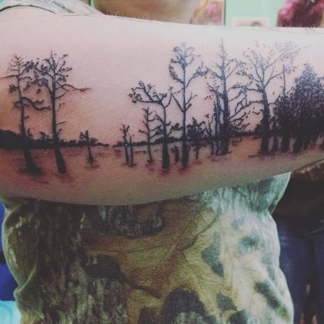 125 Best Attractive Nature Tattoo Designs Meanings 2019