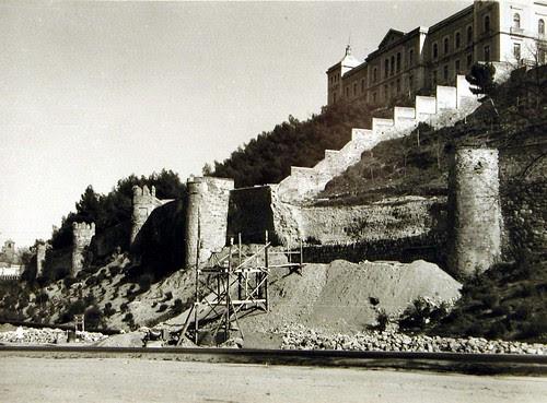Murallas de Toledo derrumbadas a inicios del siglo XX