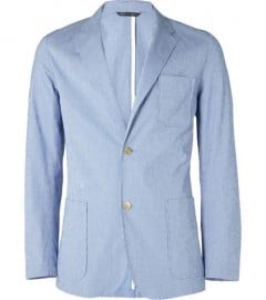 Richard James Unstructured Gingham Blazer