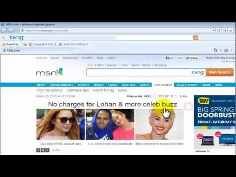 طريقة تسريع المتصفح انترنيت اكسبلور Internet Explorer faster