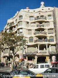museums in barcelona - picture of antonio Gaudí la pedrera