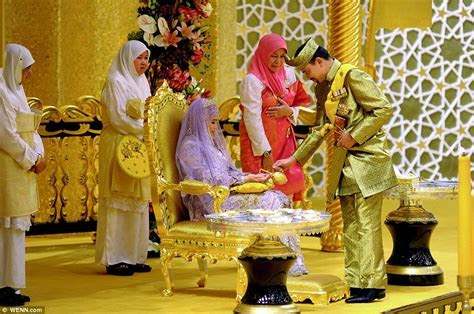 Now THAT'S a Royal Wedding! Sultan of Brunei celebrates
