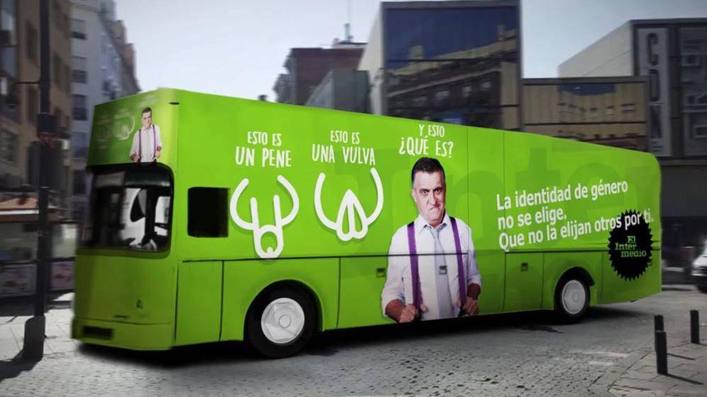 Resultado de imagen de autobus hazte oir