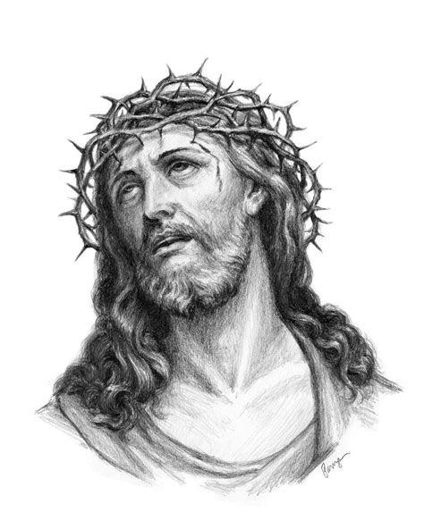 jesus crown  thorns  chrispanza  deviantart art