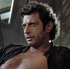 Dr. Ian Malcolm nos primeiros filmes, Jeff Goldblum diz estar disposto a retornar em 'Jurassic World 2'
