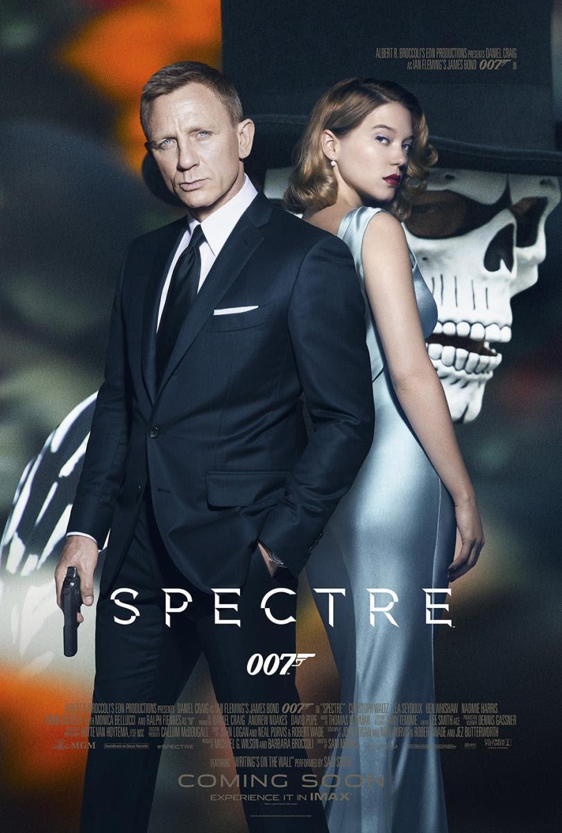 cine, película, Spectre, james bond, espionaje, secuela, acción, aventuras, cartelera, blog de cine, solo yo, blog solo yo, daniel craig,