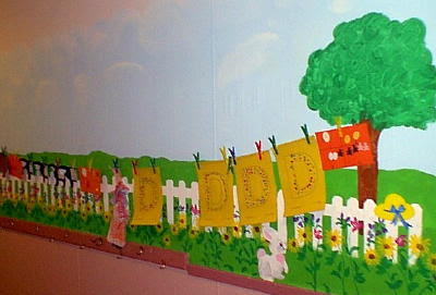 Bulletin Board, Door, & Wall Displays at The Virtual Vine