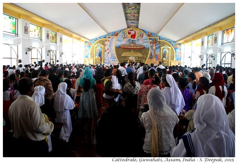 La cattedrale di Guwahati, Assam India - Images by Sunil Deepak