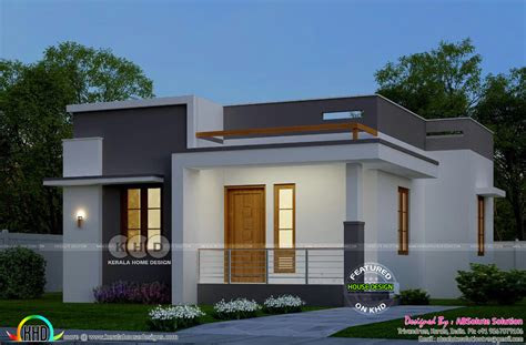 budget house cost   lakhs kerala home design