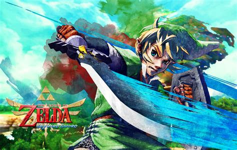 zelda skyward sword wallpaper hd