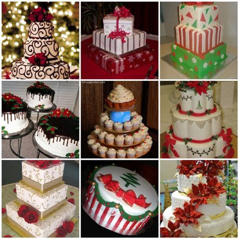 Christmas Wedding Cake Ideas   Here Comes The Blog