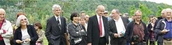 """Remise officielle """"Jardin remarquable en 2010"""