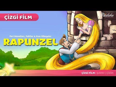 Rapunzel çizgi Film Masal 45 Adisebaba çocuk çizgi Film Masallar