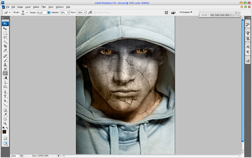 Adding Texture to the Skin image 16