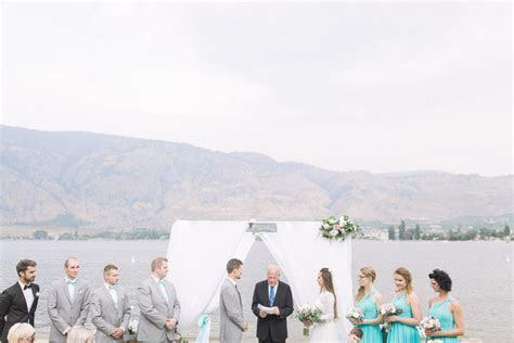 Cody & Karina   Watermark Beach Resort Wedding   Osoyoos