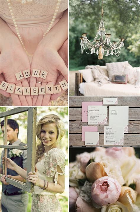 Dusty Pink Wedding Inspiration   OneFabDay.com