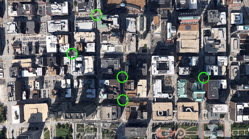 Downtown STL Urban Intersections