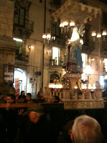 Immaculate Conception procession, Caltagirone