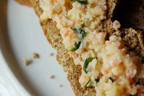 potted prawn + soda bread
