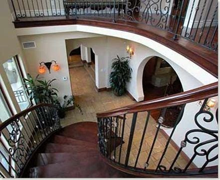 C mo decorar la casa pasamanos de madera para escaleras - Pasamanos de madera modernos ...