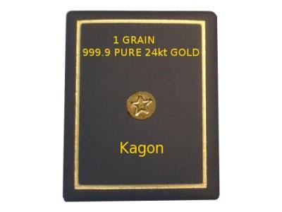 pure 24k 999.9 1 grain gold ingot bullion bar rounds
